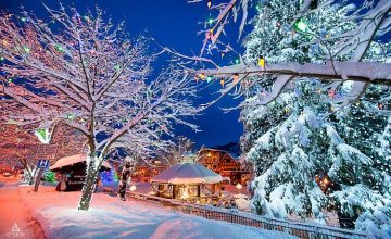 What would your winter wonderland look like?