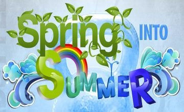 I wonder how we can Spring into Summer?